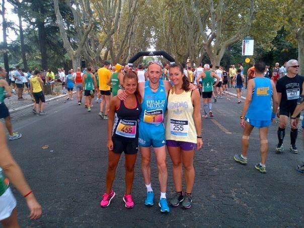 Cityrunners e Danilo Goffi alla Blood Runner Roma